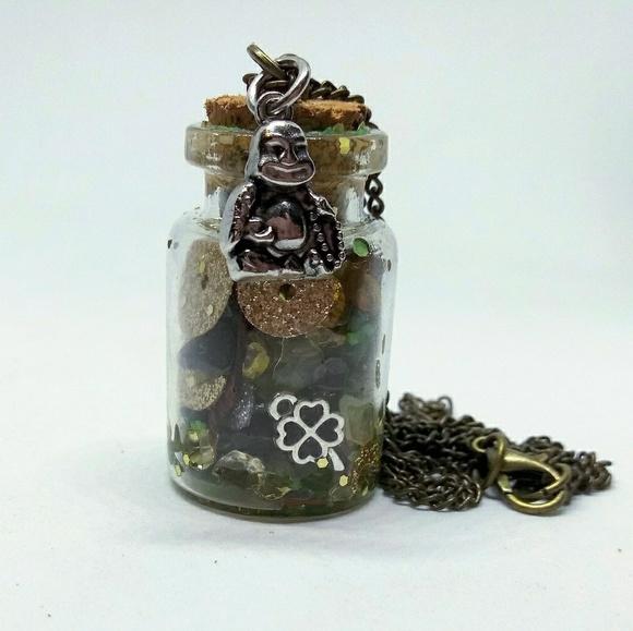 Buddha Money/Luck/Protection Jar Enchanted Spell